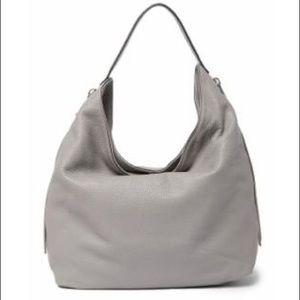 Rebecca Minkoff Bryn Leather Hobo Bag Khaki